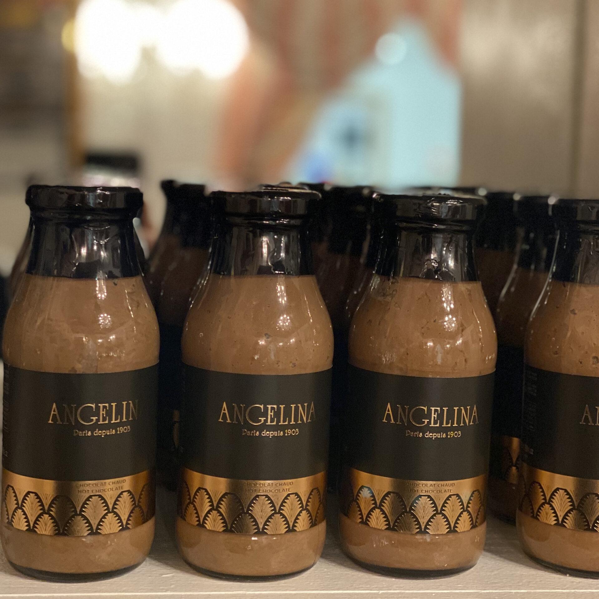 angelina bottled hot chocolate