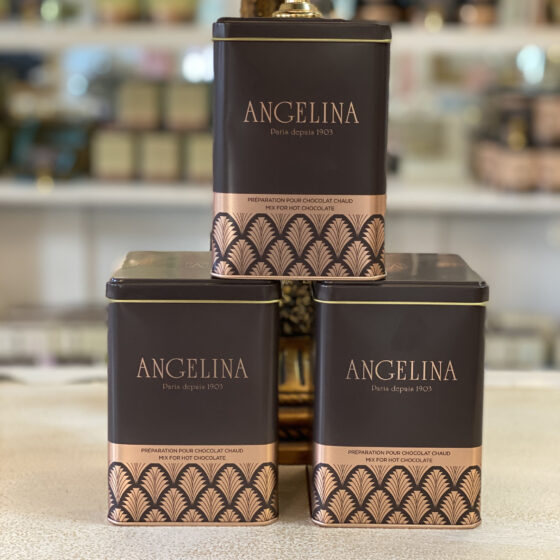 angelina bottle hot chocolate powder