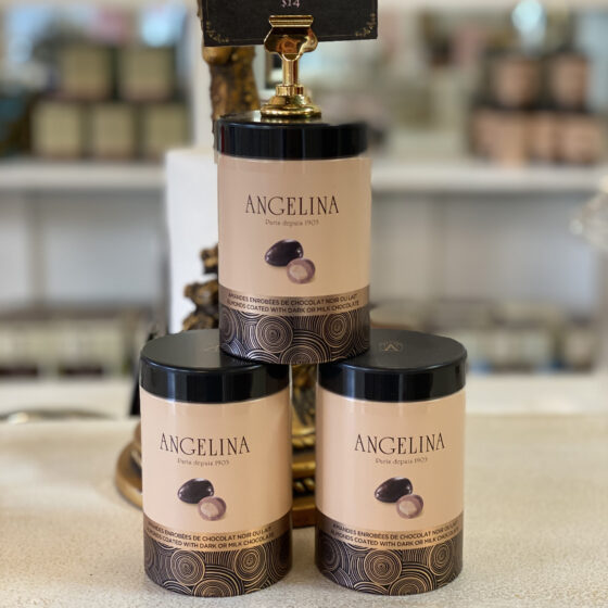 angelina covered almonds