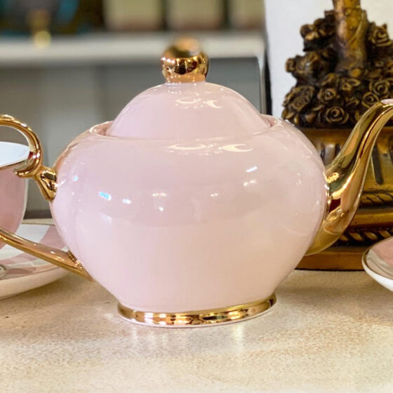 Cristina Re Blush Tea Pot