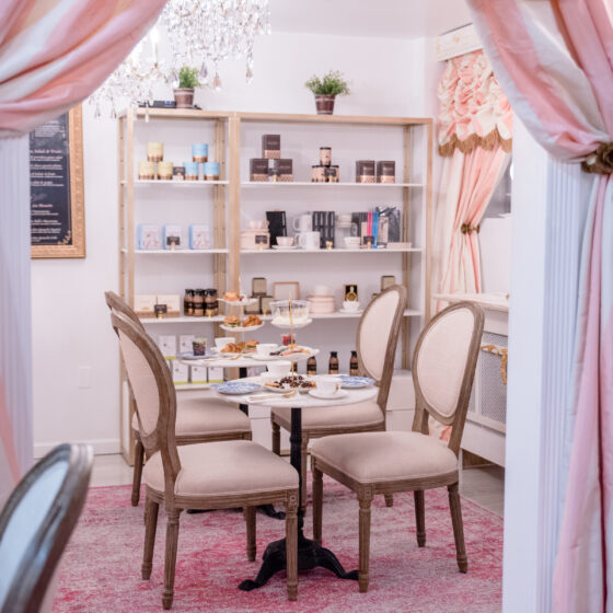 The Parisian Tea Room Gift certificate